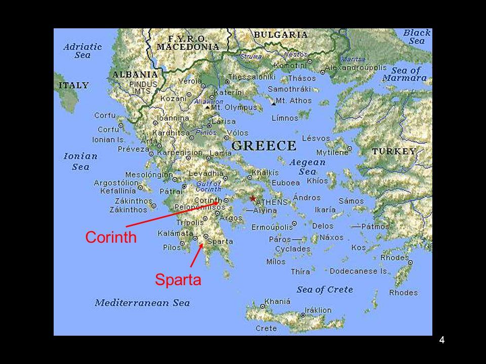 4 Sparta Corinth