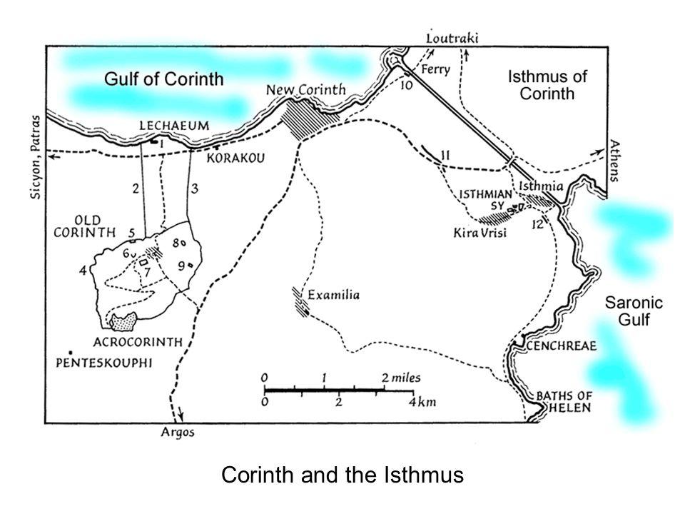 8 Corinth: Temple of Apollo