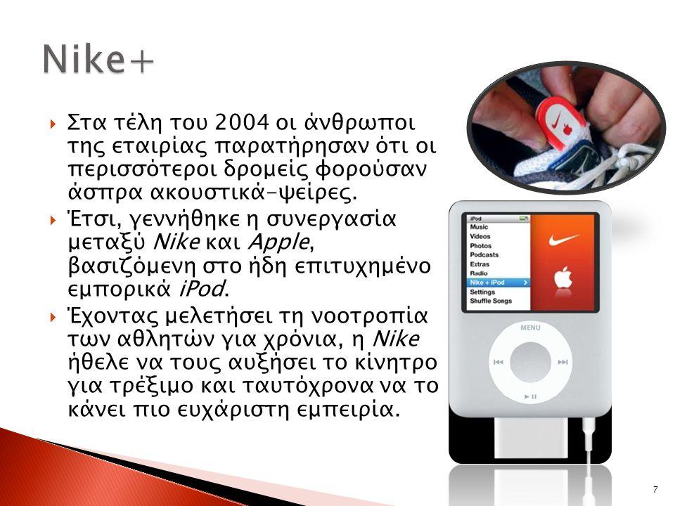  Αρχικά, πέρα από την κατοχή iPod, ήταν απαραίτητη η αγορά ειδικού παπουτσιού, πομπού και δέκτη για να λειτουργήσει η εφαρμογή.