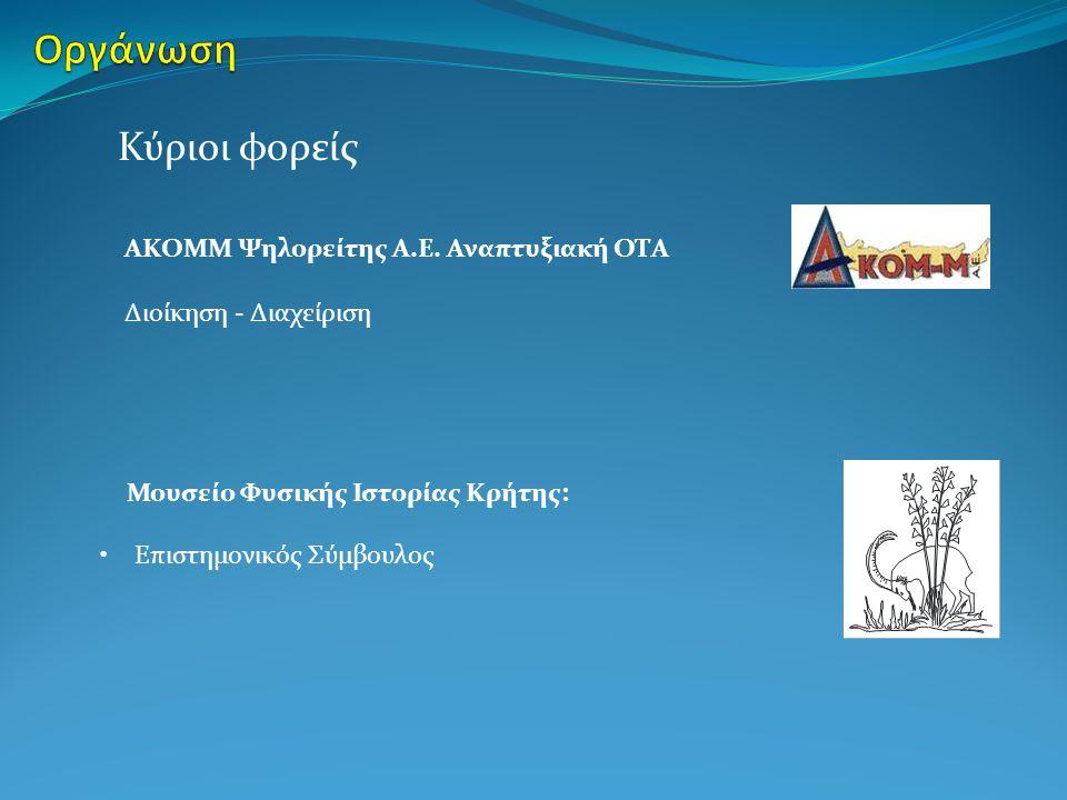 Περιλαμβάνει: Γεωποικιλότητα Βιοτικό Περιβάλλον Ανθρωπογενές περιβάλλον Πολιτισμός, ιστορία, παράδοση