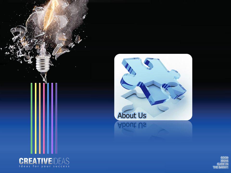 Η ιδέα της Creative Ideas ξεκίνησε το 2006, από τον χώρο του διαδικτύου (με την σχεδίαση ιστοσελίδων) και εξελίχθηκε σε μια οντότητα όπου δραστηριοποιείται στην παροχή ολοκληρωμένων αλλά και τεχνολογικά σύγχρονων λύσεων, επικεντρώνοντας στην ανάγκη να προσφέρει υπηρεσίες και προϊόντα κατάλληλα σχεδιασμένα για κάθε σύγχρονη επιχείρηση.