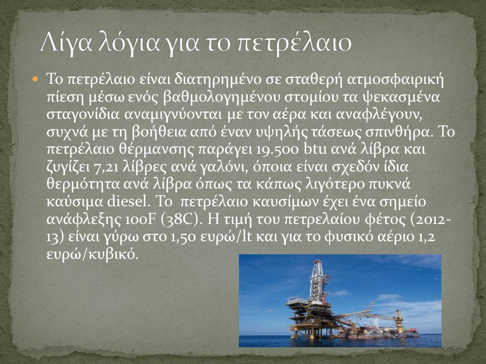 Το πετρέλαιο είναι διατηρημένο σε σταθερή ατμοσφαιρική πίεση μέσω ενός βαθμολογημένου στομίου τα ψεκασμένα σταγονίδια αναμιγνύονται με τον αέρα και αναφλέγουν, συχνά με τη βοήθεια από έναν υψηλής τάσεως σπινθήρα.