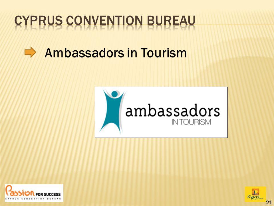 21 Ambassadors in Tourism