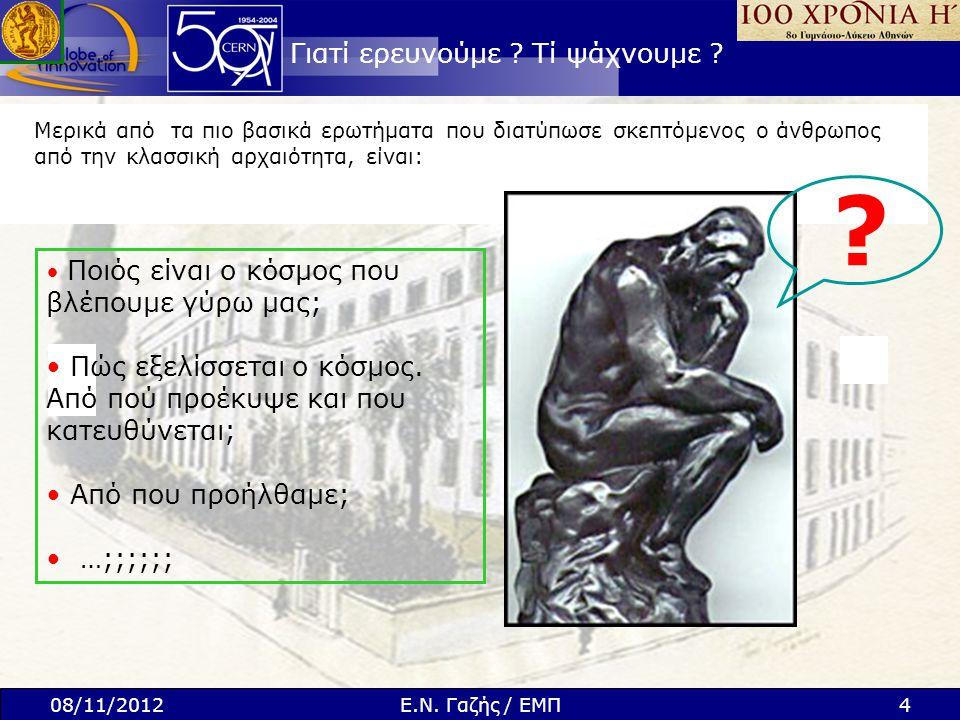ΠΕΙΡΑΜΑ CMS Νέο Σωματίδιο Ξ b * 0 27 ΑΠΡΙΛΙΟΥ 2012 !.