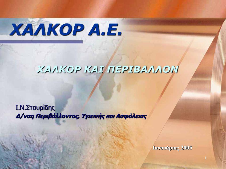 1 ΧΑΛΚΟΡ Α.Ε.