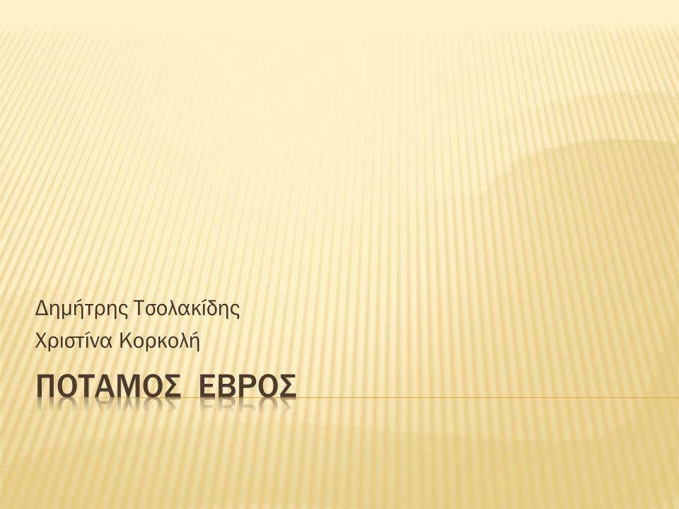 Δημήτρης Τσολακίδης Χριστίνα Κορκολή