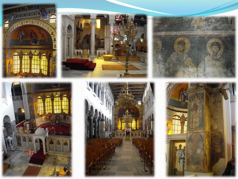 Εντυπώσεις Αυτά που μας εντυπωσίασαν περισσότερο από το ναό του Αγίου Δημητρίου είναι αρχικά η επιβλητικότητα του.