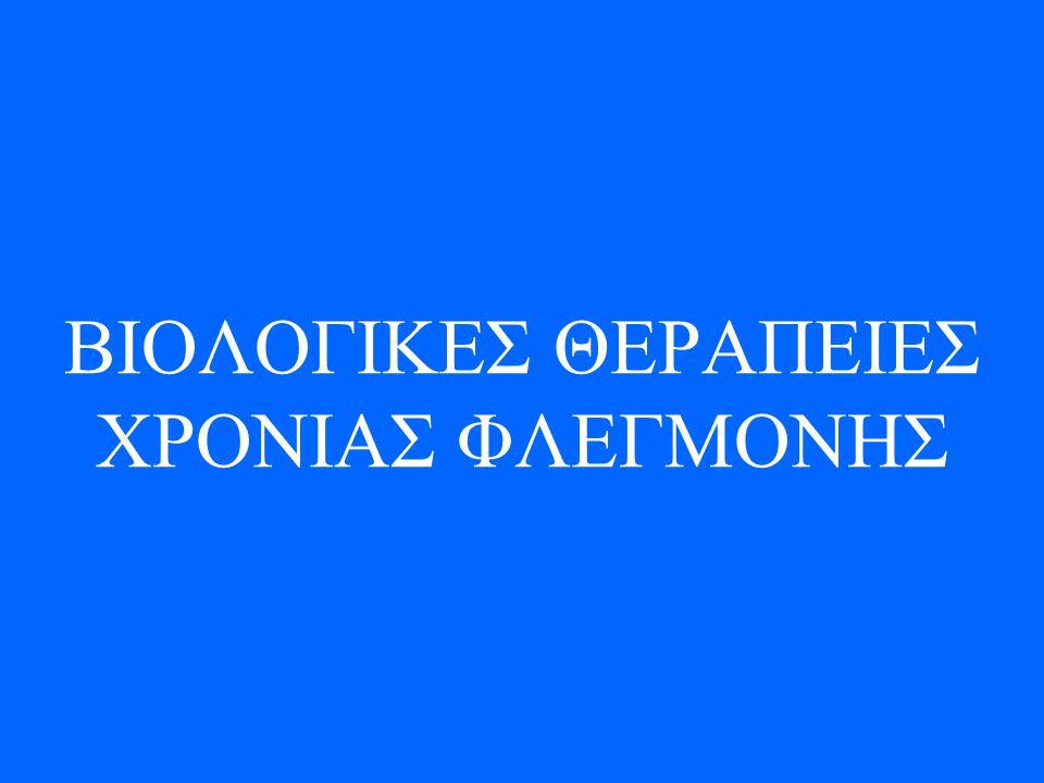 ΒΙΟΛΟΓΙΚΕΣ ΘΕΡΑΠΕΙΕΣ ΧΡΟΝΙΑΣ ΦΛΕΓΜΟΝΗΣ