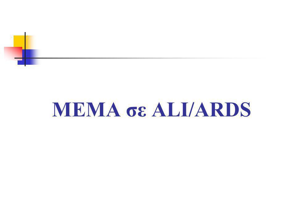 ΜΕΜΑ σε ALI/ARDS