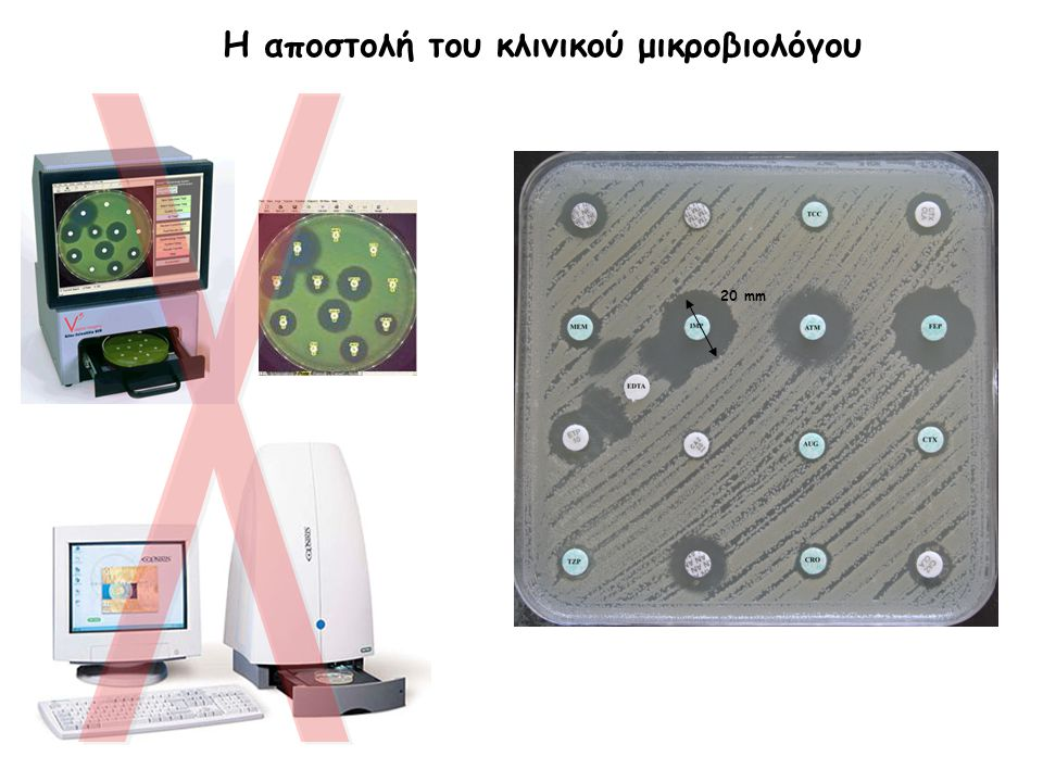20 mm Η αποστολή του κλινικού μικροβιολόγου