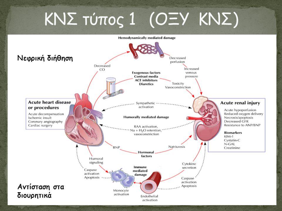  Αλληλεπίδραση μεταξύ καρδιάς και νεφρού  Σε οξείες και χρόνιες καταστάσεις  Περισσότερη γνώση φυσιοπαθολογίας  Σαφέστεροι ορισμοί  Συνεργασία ειδικοτήτων