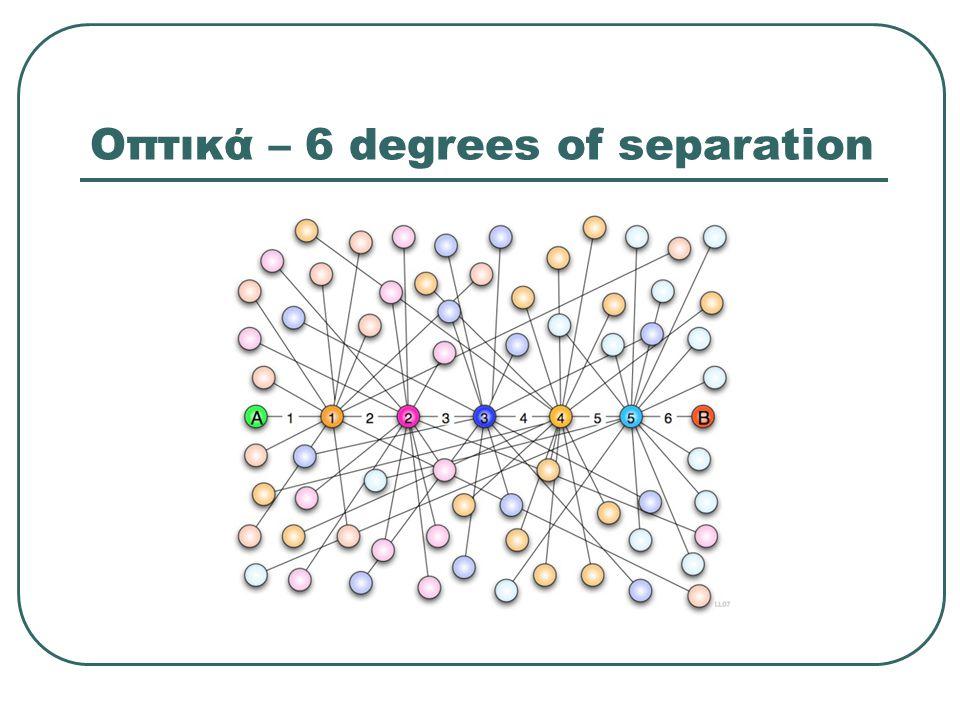 Οπτικά – 6 degrees of separation