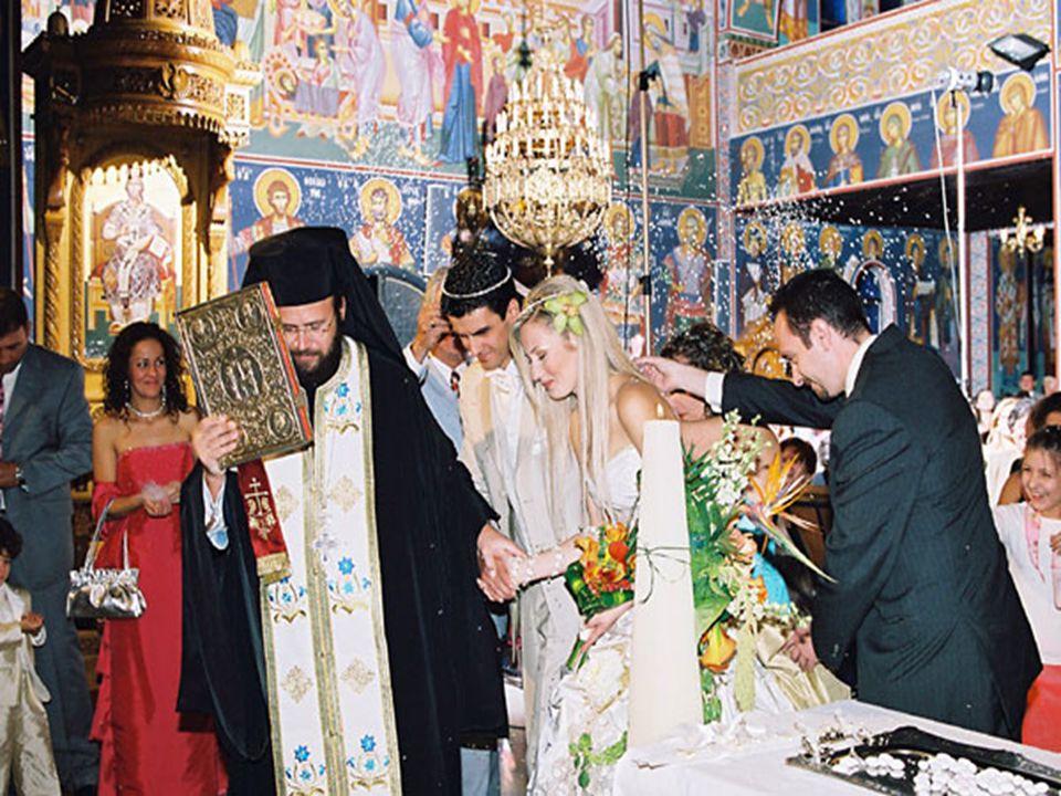 «Ησαϊα χόρευε …» «Ησαϊα χόρευε …» Ο χορός γύρω από το τραπέζι εκφράζει: Τη χαρά που συνοδεύει το Γάμο Την πορεία του ζευγαριού μέσα στον κόσμο