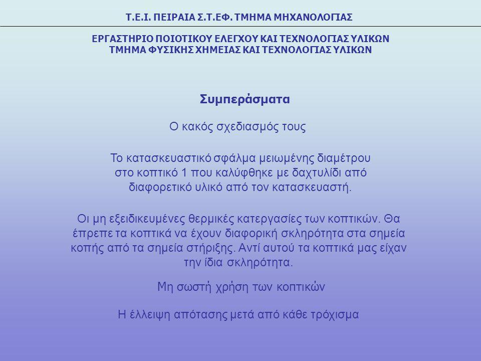 Τ.Ε.Ι. ΠΕΙΡΑΙΑ Σ.Τ.ΕΦ.
