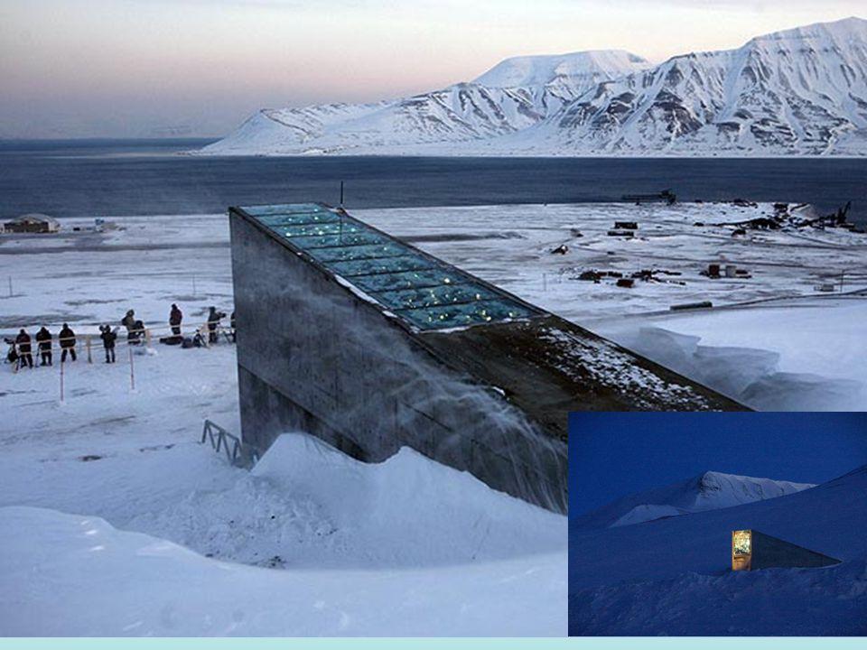Η είσοδος της στοάς έχει μια φουτουριστική σχεδίαση με μεταλλικούς καθρέφτες που αντανακλούν τον ήλιο κατά τη διάρκεια της ημέρας και λάμψη στο σκοτάδι της νύχτας, και σχεδιάστηκε από τη νορβηίδα καλλιτέχνη Sanne Dyveke.