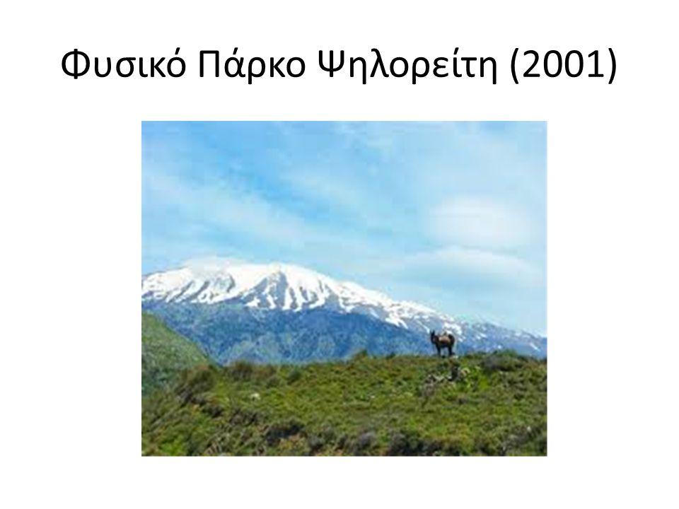 Φυσικό Πάρκο Ψηλορείτη (2001)