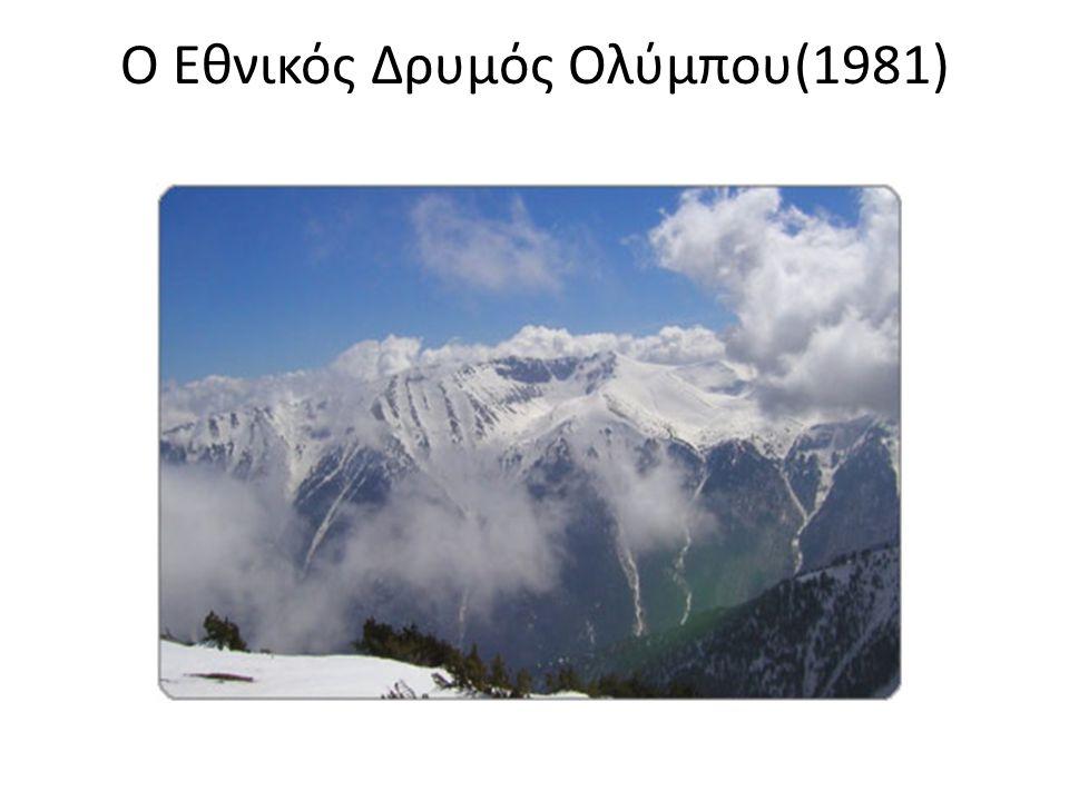 Ο Εθνικός Δρυμός Ολύμπου(1981)