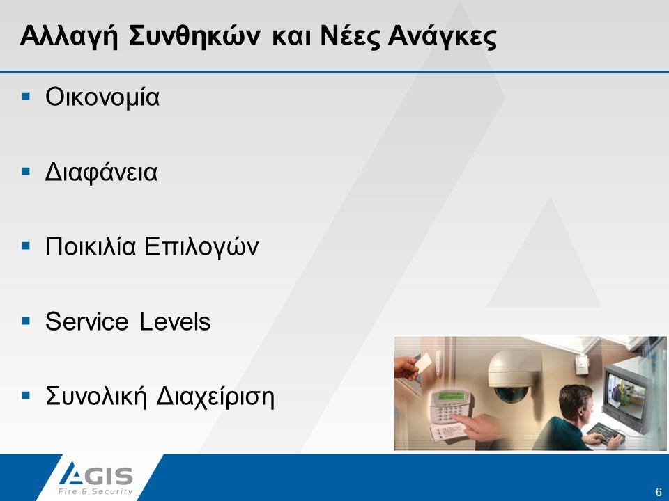 Αλλαγή Συνθηκών και Νέες Ανάγκες Για τους Πελάτες μας…  Προσφερόμενα Service Levels  Αριθμός Προληπτικών και Εκτάκτων Επισκέψεων  Είδος Εργασιών Προληπτικής Συντήρησης  Διαθεσιμότητα Τηλεφωνικής Υποστήριξης  Διαθεσιμότητα Τεχνικής Υποστήριξης  Δυνατότητα Πανελλαδικής Κάλυψης 7