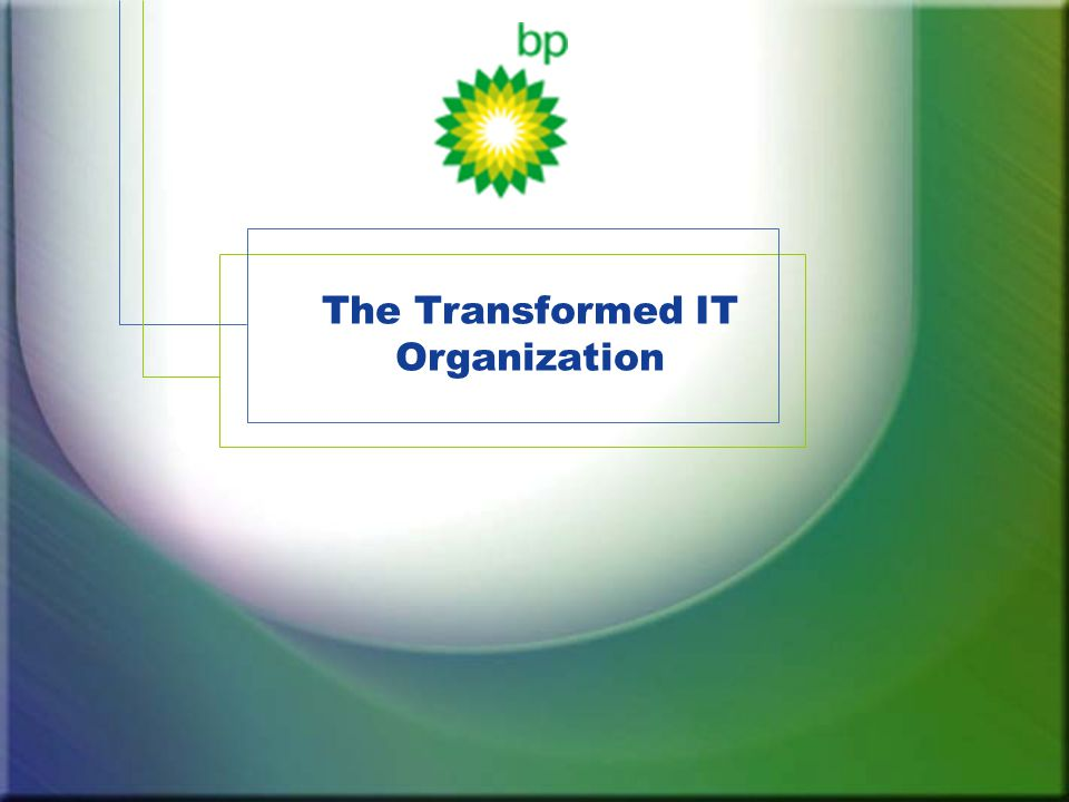 The Transformed IT Organization