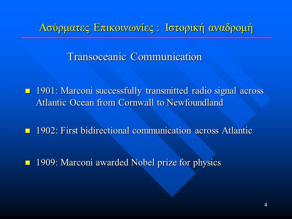 Κινητές Επικοινωνίες : Τρόποι διάδοσης LOS, Reflection, Diffraction, Scattering
