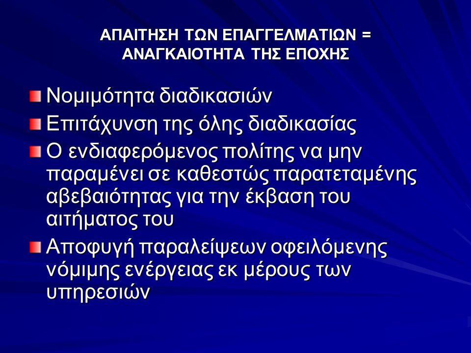 Ν.3463/2006 Βαρύτητα στις αρμοδιότητες, η άσκηση των οποίων, επηρεάζει την καθημερινή επαφή των πολιτών με τις δημοτικές και κοινοτικές αρχές