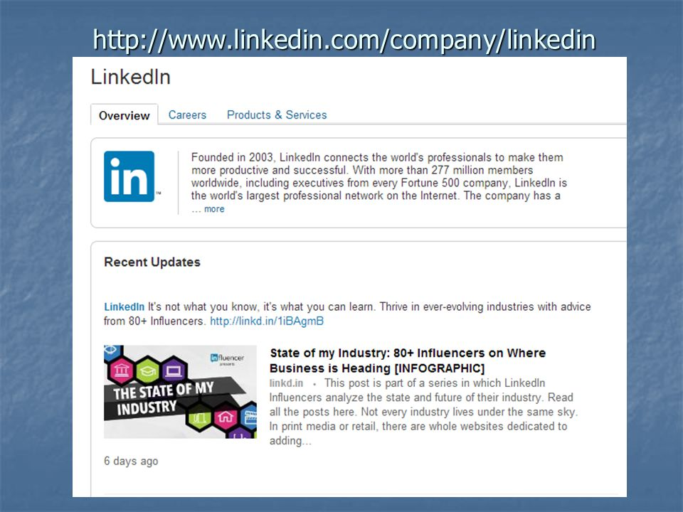 http://www.linkedin.com/company/linkedin