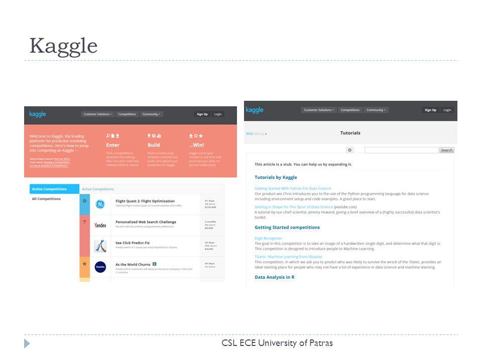 Kaggle CSL ECE University of Patras