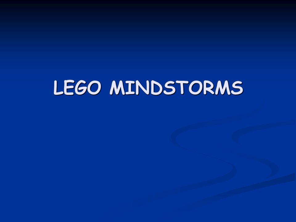 Επιστημονικά στοιχεία  Τα Lego Mindstorms είναι μια γραμμή παραγωγής της Lego που συνδυάζει προγραμματίσημα τούβλα με ηλεκτρικές μηχανές, αισθητήρες, τούβλα Lego, και τεχνικά κομμάτια Lego (όπως εργαλεία, άξονες, ακτίνες, και υδραυλικά μέρη)κατάλληλα για να χτίσει ο χρήστης ρομπότ και άλλα αυτοματοποιημένα ή διαλογικά συστήματα.