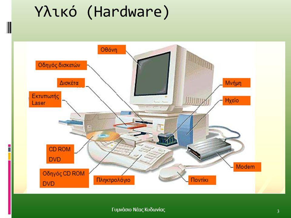 Υλικό (Hardware) 3 Γυμνάσιο Νέας Κυδωνίας