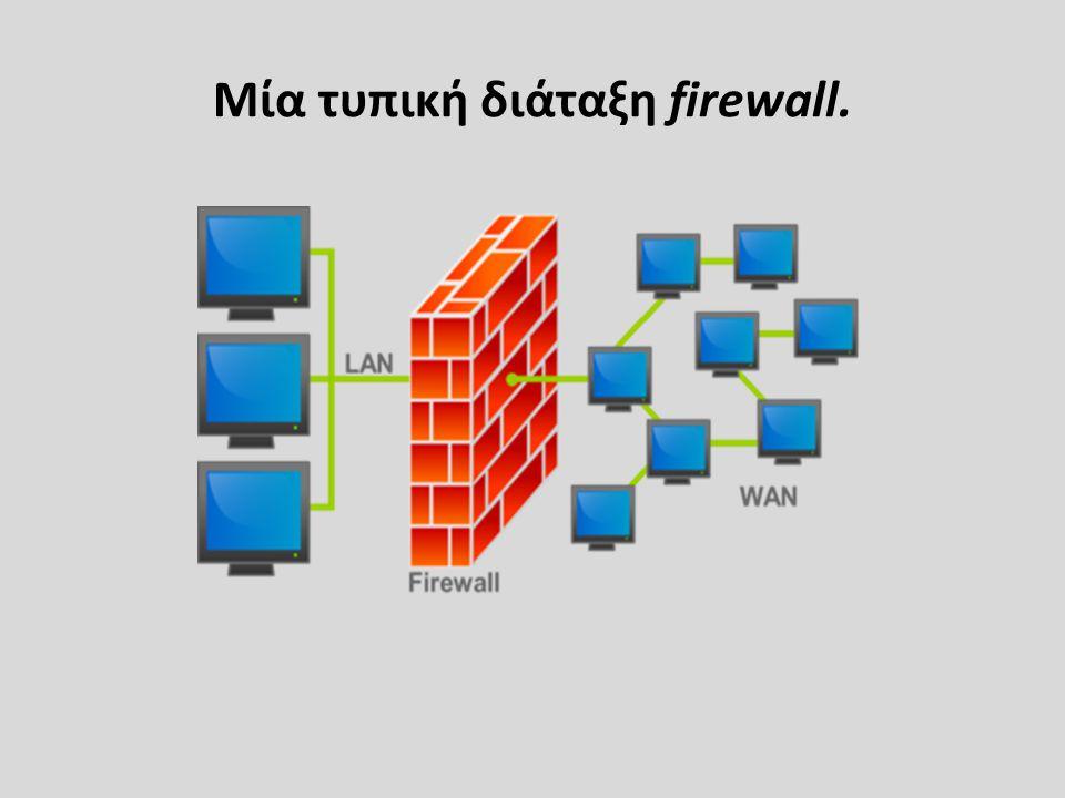 ΙΣΤΟΡΙΚΑ ΣΤΟΙΧΕΙΑ • Ο όρος firewall είναι αρκετά παλιός.