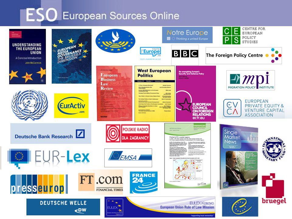 Άλλες ιδιότητες της ESO Μείνετε ενημερωμένοι Προστιθέμενες πληροφορίες σε καθημερινή βάση Η ένδειξη Πηγή-κλειδί τονίζει τις πιο σημαντικές πηγές.