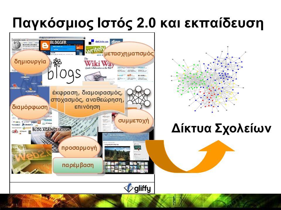 Παγκόσμιος Ιστός 2.0 και εκπαίδευση Δίκτυα Σχολείων