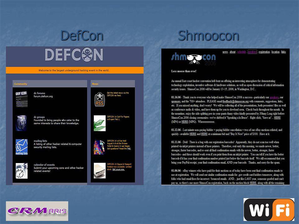 DefCon Shmoocon