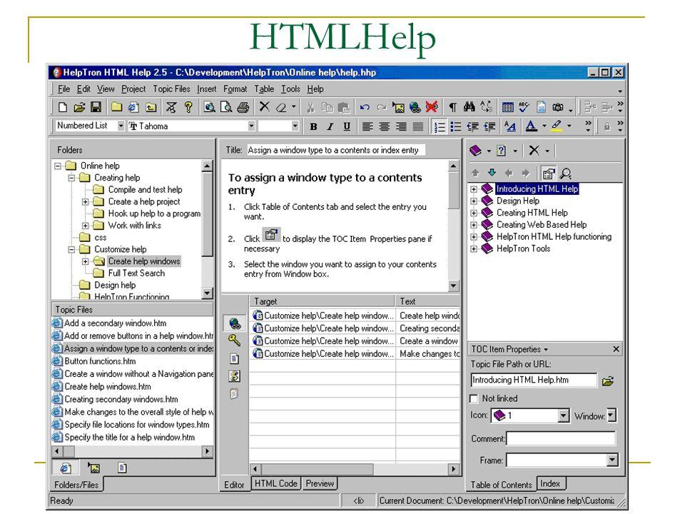 HTMLHelp
