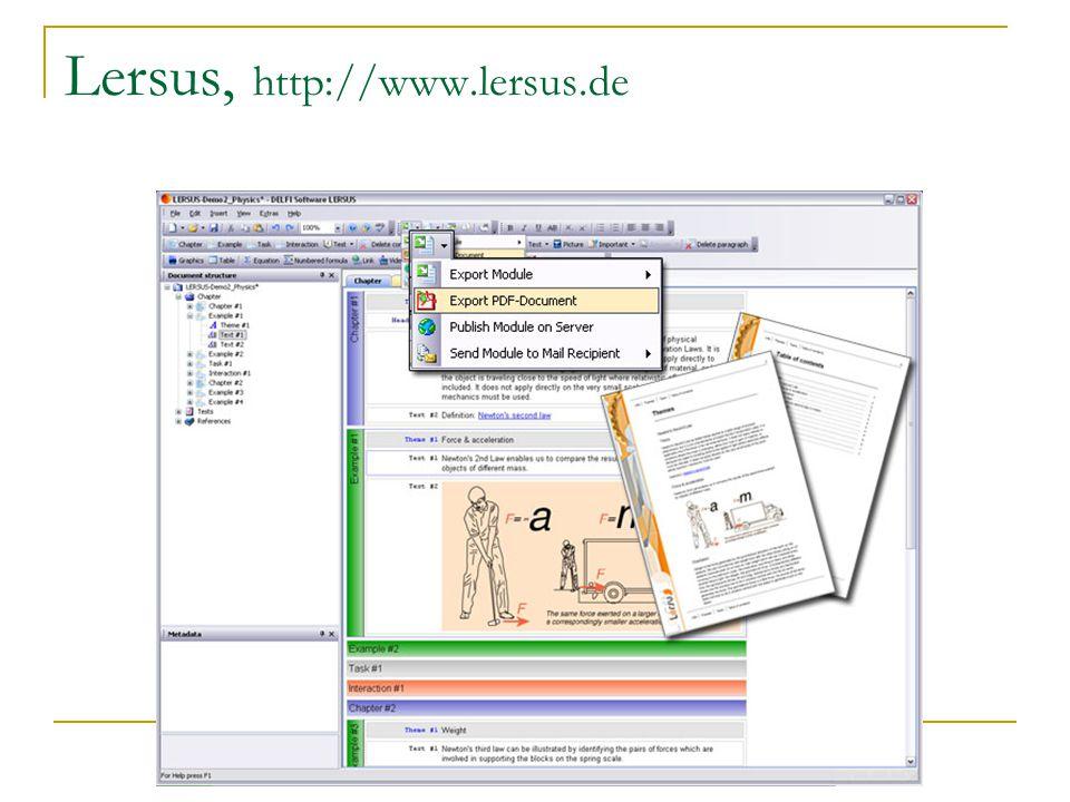 Lersus, http://www.lersus.de