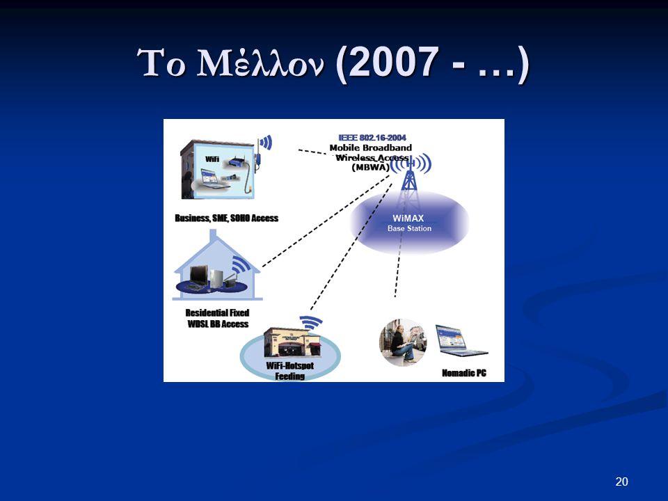 20 Το Μέλλον (2007 - …)
