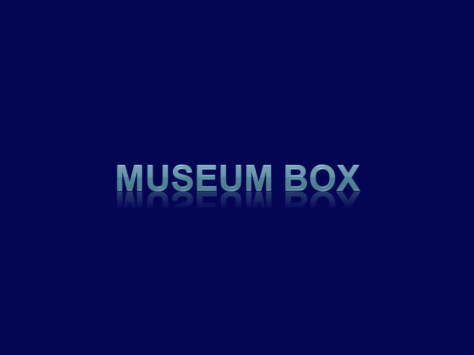 •Είναι ένα αρκετά περίπλοκο πρόγραμμα μορφής κύβου •Το Museum Box σας παρέχει τα εργαλεία εκείνα ώστε να περιγράψετε ένα γεγονός ή να δώσετε πληροφορίες πάνω σε ένα θέμα, πρόσωπο ή ιστορική περίοδο τοποθετώντας στοιχεία σε ένα εικονικό κουτί.