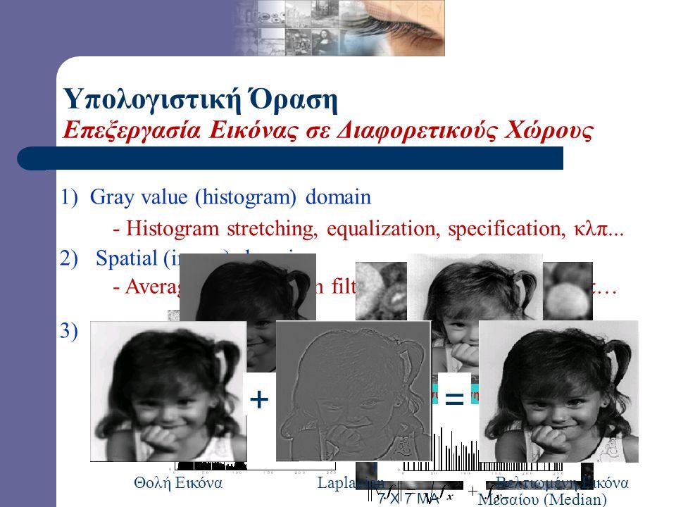 Στα φίλτρα αυτού του τύπου το κάθε εικονοστοιχείο της αρχικής εικόνας αντικαθίσταται από τον μεσαίο (median) των εικονοστοιχείων της γειτονιάς του. Γι