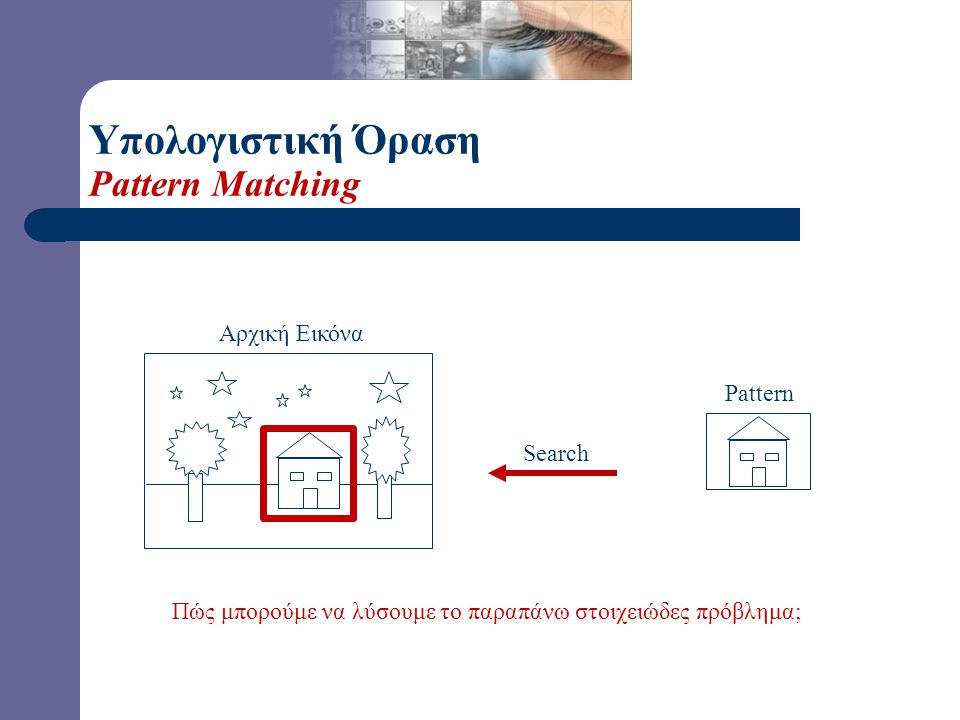 Υπολογιστική Όραση Πυραμίδες Υψηλή Ανάλυση (HR) Χαμηλή Ανάλυση (LR)
