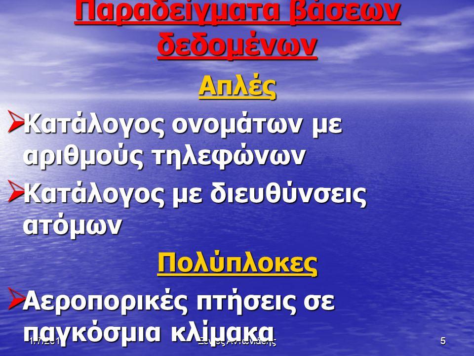 1/7/2014Ξένιος Αντωνιάδης25 Βιβλιογραφία • Βιβλίο «Πληροφορική Β΄ Ενιαίου Λυκείου Μάθημα Κατεύθυνσης Σημειώσεις Μαθητή» Σελ ίδες (9,10,11,12) • Διαδύκτιο www.teacherx.eu
