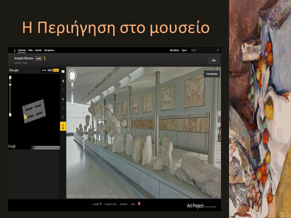 Η Περιήγηση στο μουσείο