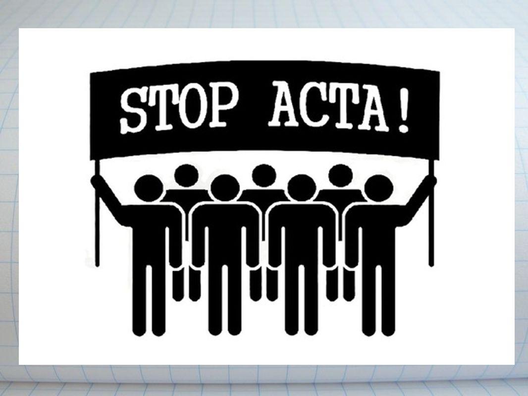 Η ACTA θα επηρεάσει μικρούς και καινοτόμους νεοεισερχόμενους στην αγορά.