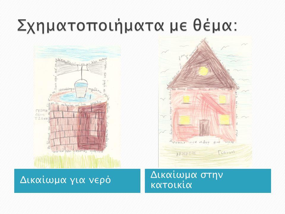 Δικαίωμα για νερό Δικαίωμα στην κατοικία