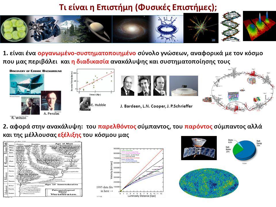 Τι είναι η Επιστήμη (Φυσικές Επιστήμες); 1. είναι ένα οργανωμένο-συστηματοποιημένο σύνολο γνώσεων, αναφορικά με τον κόσμο που μας περιβάλει και η διαδ