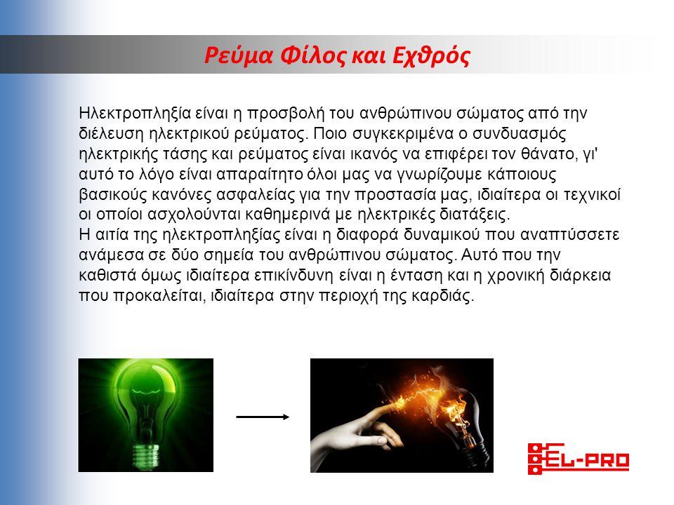 ΟΤΑΝ ΔΗΜΙΟΥΡΓΗΘΕΙ ΕΝΩΣΗ ΦΑΣΗΣ (L) ΚΑΙ ΟΥΔΕΤΕΡΟΥ (Ν) Ηλεκτροπληξία είναι η προσβολή του ανθρώπινου σώματος από την διέλευση ηλεκτρικού ρεύματος.
