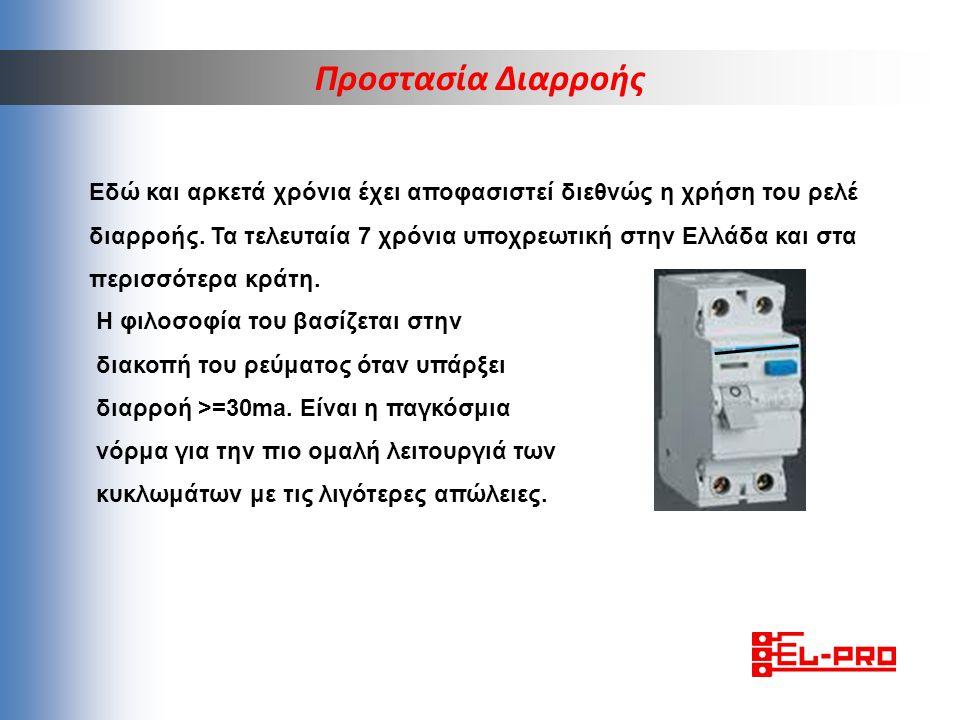 Εδώ και αρκετά χρόνια έχει αποφασιστεί διεθνώς η χρήση του ρελέ διαρροής. Τα τελευταία 7 χρόνια υποχρεωτική στην Ελλάδα και στα περισσότερα κράτη. Προ