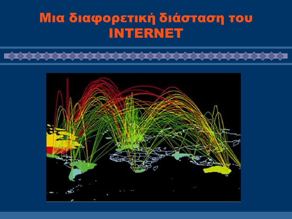 Χαρακτηριστηκά της ΚτΠ Δενδροειδής δομή του INTERNET