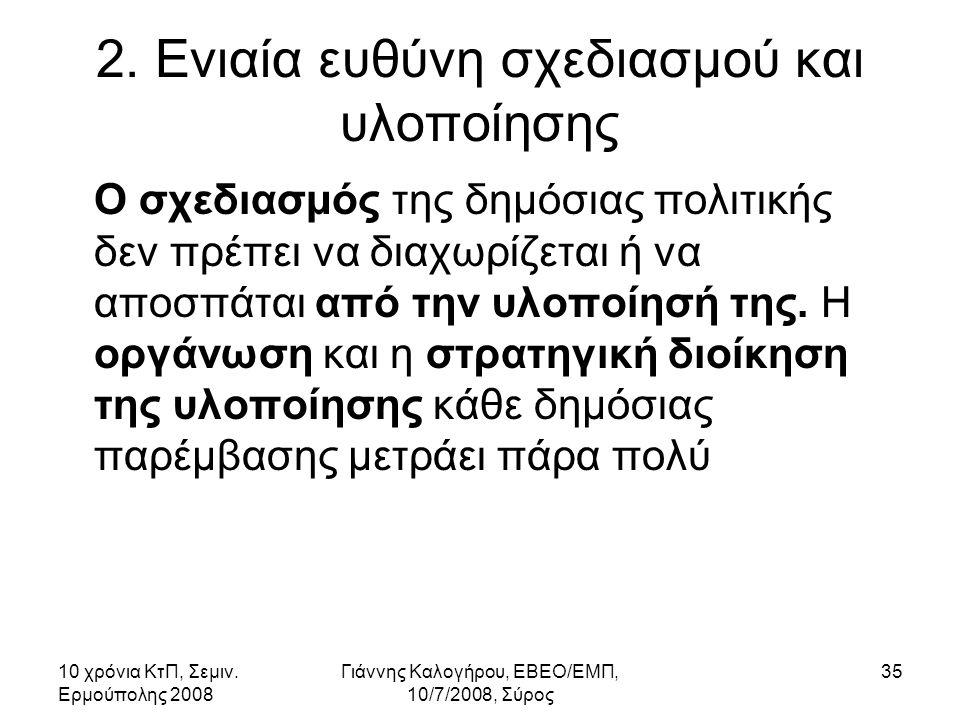 10 χρόνια ΚτΠ, Σεμιν. Ερμούπολης 2008 Γιάννης Καλογήρου, ΕΒΕΟ/ΕΜΠ, 10/7/2008, Σύρος 35 2.