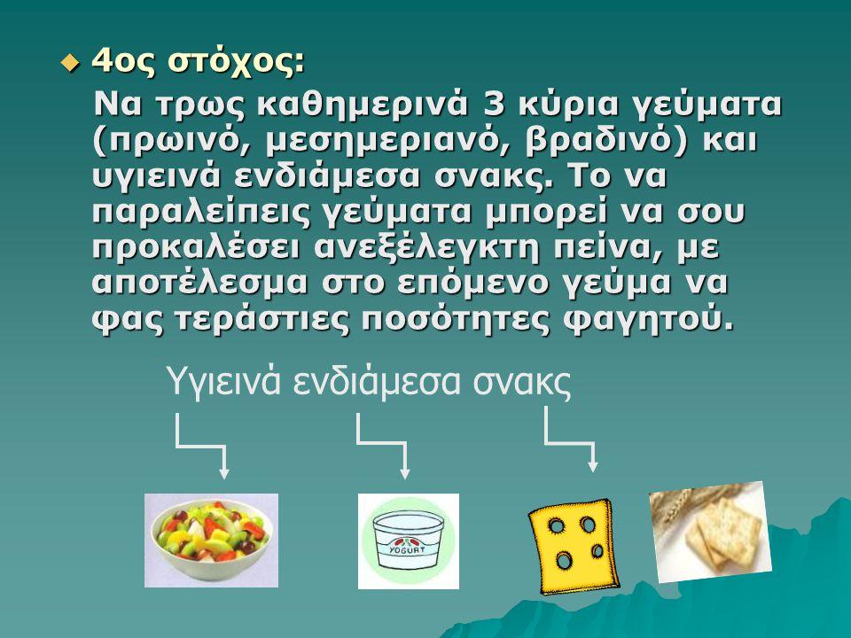  3ος στόχος: Φτιάξε υγιεινά σάντουιτς για το σχολείο σου. Φτιάξε υγιεινά σάντουιτς για το σχολείο σου. Η καθηγήτρια μας έδωσε κάποιους συνδυασμούς τρ