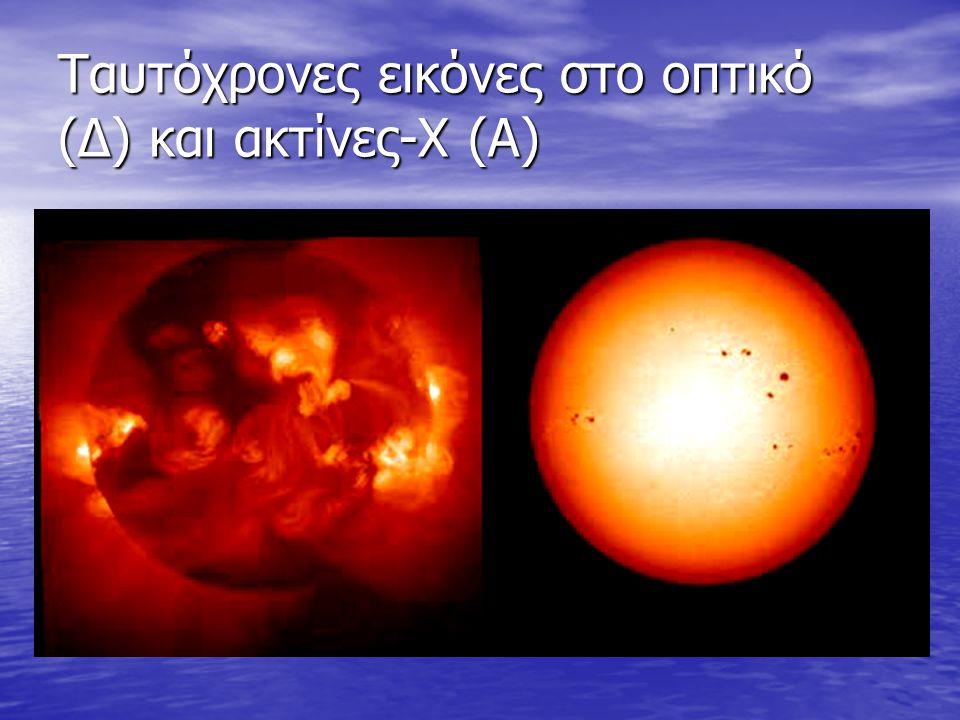 Ταυτόχρονες εικόνες στο οπτικό (Δ) και ακτίνες-Χ (Α)